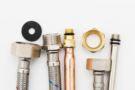 Plumbing pipes, copper and flexible