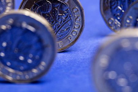 Sterlina britannica moneta da una sterlina