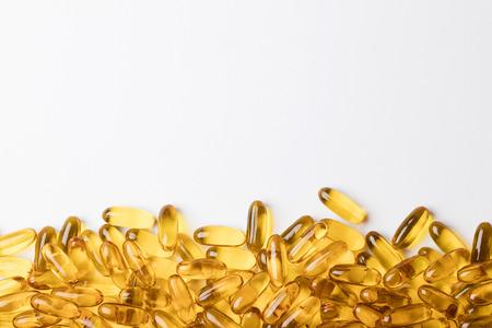 Vitamin Omega 3 fish oil tablets