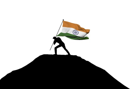 Indian Flag Stock Photos And Images - 123RF