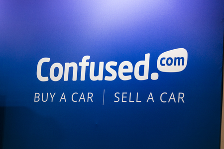 LONDON, UK - MAY 18th 2018: The confused.com London motor show at the excel convention centre. The show is the UKs largest automotive retail event