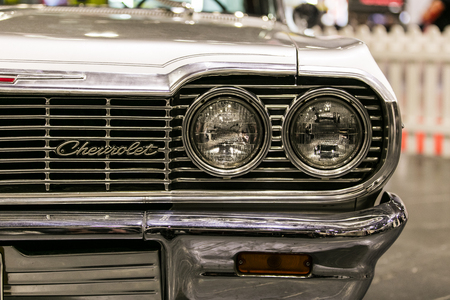 LONDON, UK - MAY 18th 2018: Chevrolet Impala at the confused.com London motor show at the excel convention centre. The show is the UK's largest automotive retail event