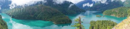 Diablo Lake, North Cascades National Park, Washington, USA