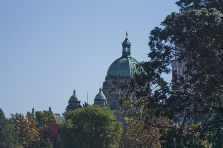 British Colombia Parliment buildings in Victoria, Canada