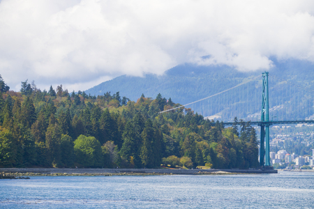 Lions Gate Bridge in Vancouver, British Colombia