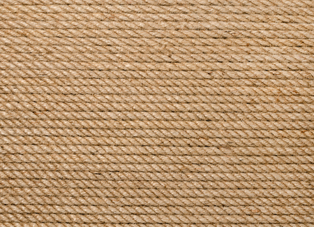 Background of hemp rope Stock Photo