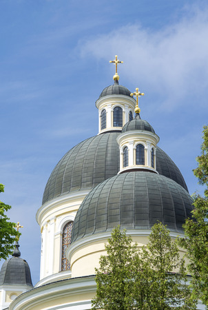 The Holy Spirit Orthodox Cathedral in Chernivtsi. Religion and places of worship.