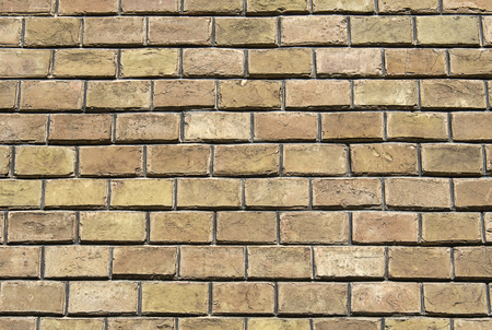 Vintage brown brickwork. Backgrounds and textures. Stock Photo