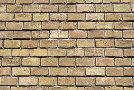 Vintage brown brickwork. Backgrounds and textures. Stok Fotoğraf