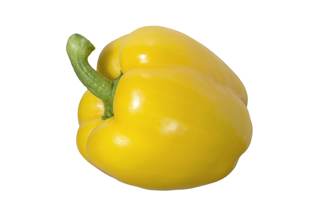 Delicious yellow pepper close up. Spicy food, vegetables and seasonings. Stok Fotoğraf