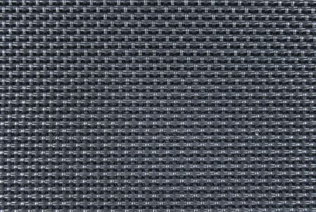 Black polyester fabric texture. Backgrounds and textures