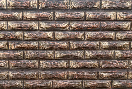Texture stylized as a decorative brick masonry. Backgrounds and textures
