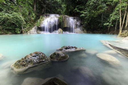 Arawan Waterfall  Stock Photo - 15280409