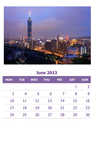 2013 calendar  Stock Photo - 16837557