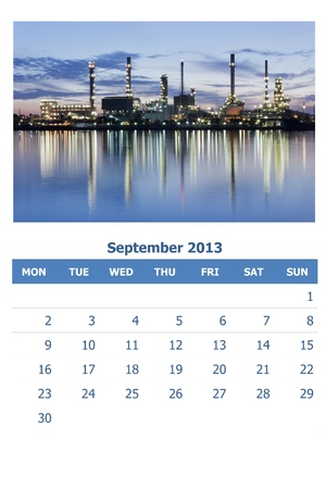 2013 calendar Stock Photo - 16835397