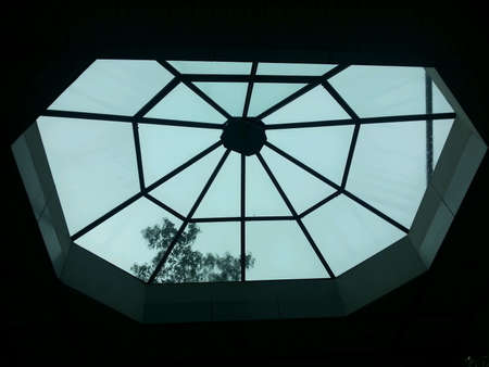 glass ceiling: glass ceiling panel exterior