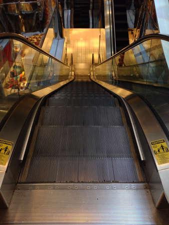 Escalator in shore