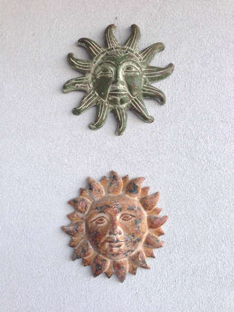 suns: Two suns. Wall decor