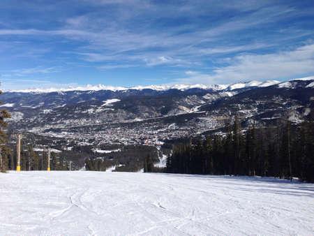 View of Breckinridge Colorado Stock fotó - 24401356