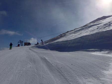 Ski slope Breckenridge Colorado
