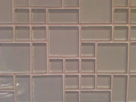 tile: Close up of glass tile Stock Photo