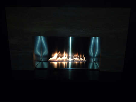 Fireplace Banco de Imagens - 24699742