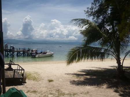 sandakan: Scenery of Nunukan Island