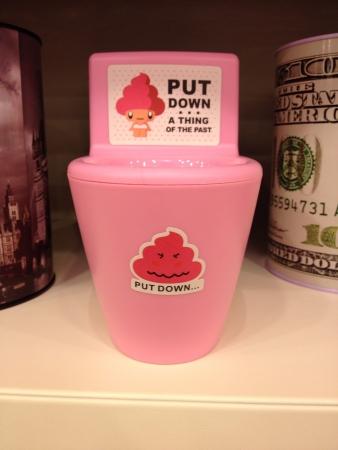 toy toilet bowl: Toilet bowl