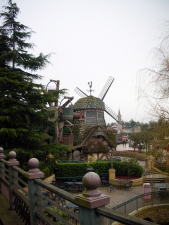 Windmill in Disneyland Paris