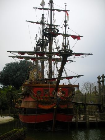 Pirate ship, Disneyland Paris