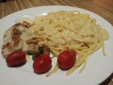 Carbonara Dish