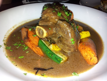 Lamb Shank with sauce