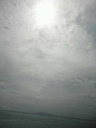 Cloudy weather with gloomy sky