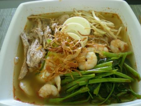 Homemade Penang Prawn Noodle