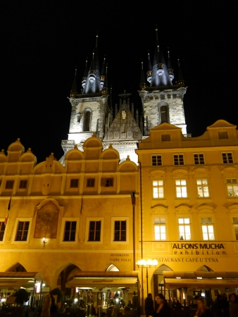 The famous Old Town Square in Prague City photo