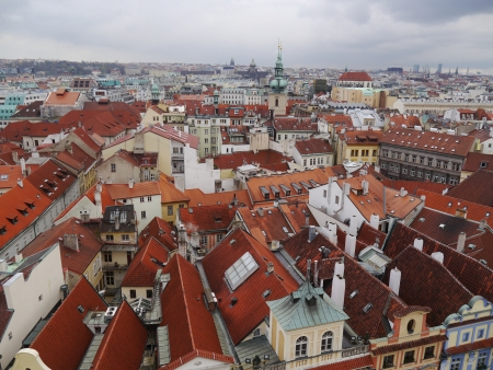 cityscape of Prague city  Panoramic view  One of the most beautiful city in Europecityscape of Prague city  Panoramic view  One of the most beautiful city in Europe