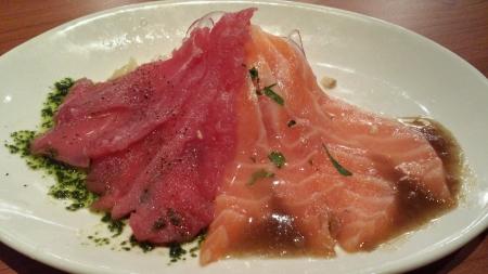 Japanese sashimi dish Stock Photo