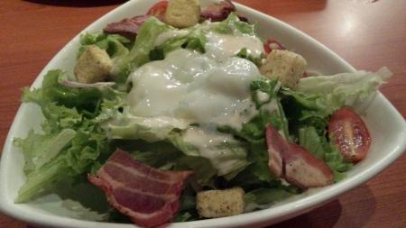 Japanese caesar salad