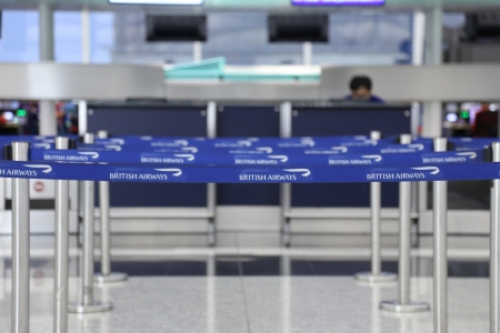 airport check in counter: check in counter at airport