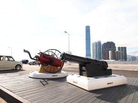 Ocean Terminal at Tsim Sha Tsui, Hong Kong Editorial