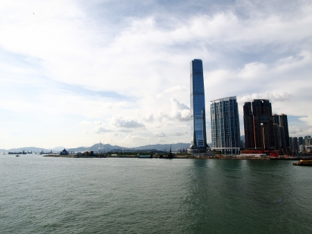 ICC, Hong Kong Stock Photo