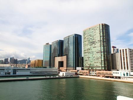 Ocean Terminal in Tsim Sha Tsui, Hong Kong Editorial
