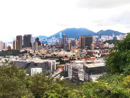 ICC, vista desde Kowloon Tong Editorial