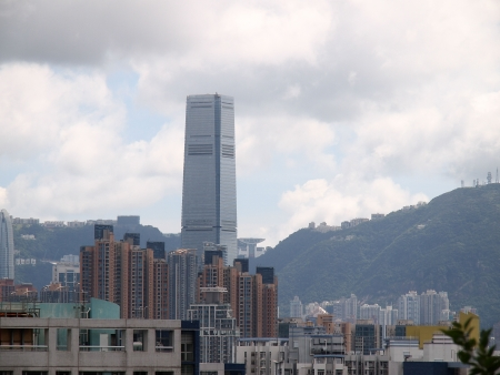 ICC, view from Kowloon Tong