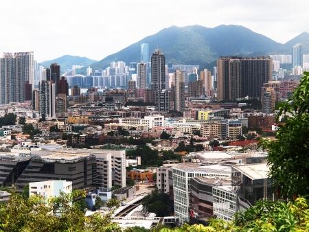 Kowloon Tong View in Hong Kong