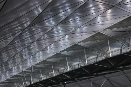 Modern Ceiling in Hong Kong International airport