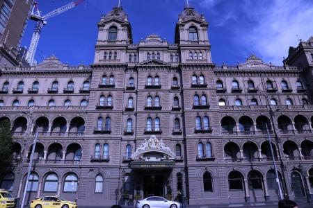 Windsor Hotel in Melbourne, Australia