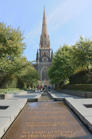 St Patrick s Cathedral in Melbourne, Australia Editorial
