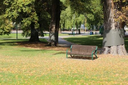 Fitzroy Gardens in Melbourne, Australia Stock Photo