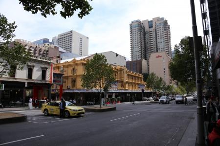 China City in Melbourne, Australia Editorial